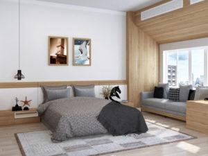 きれいに見える寝室