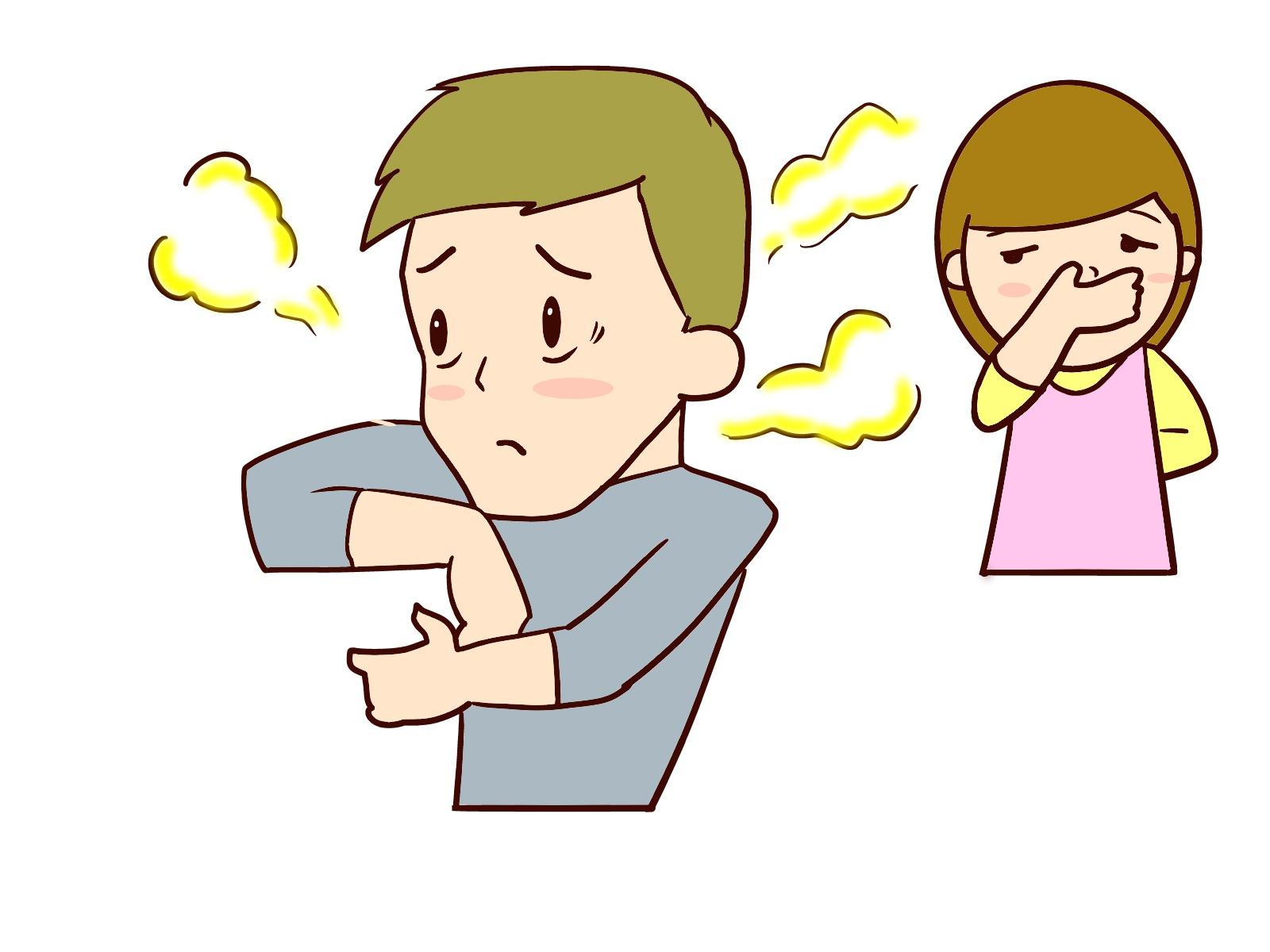 加齢臭による臭い